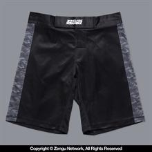 "SCramble ""Kuro"" Camo Fight Shorts"